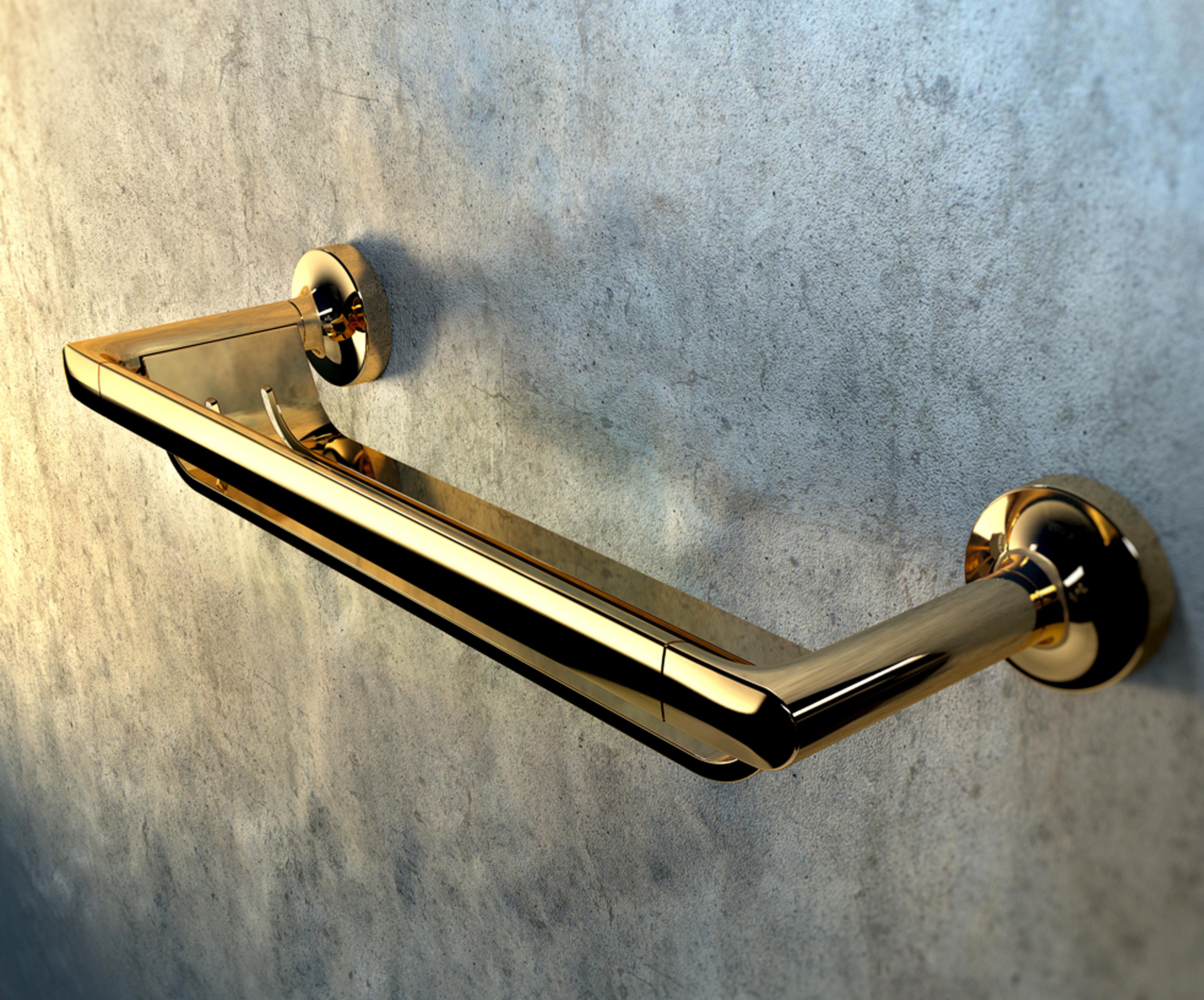 Geesa bathroom accessories - Geesa_gold Tone Thumb