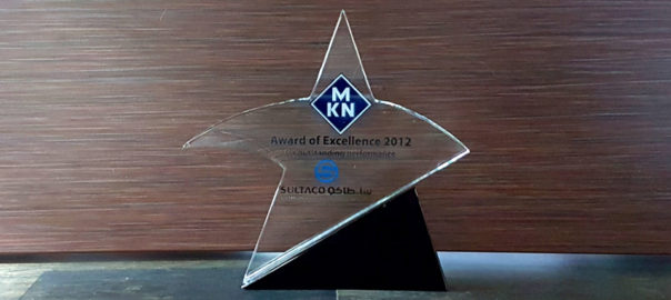 2012 - MKN - Award of Excellence_2